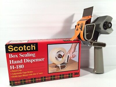 Scotch Box Sealing Hand Tape Dispenser Model H-180 Adjustable