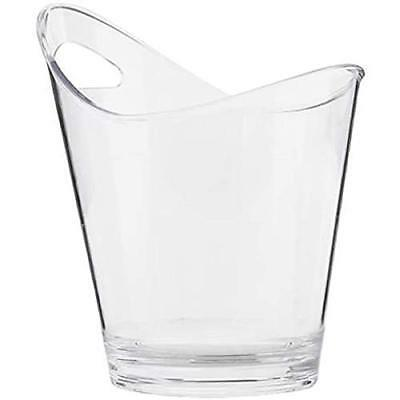 KitchenCraft BarCraft Clear Acrylic Drinks Pail/ Wine Cooler