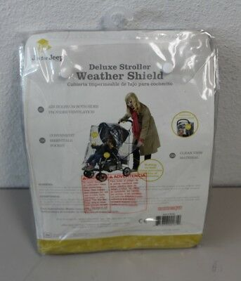 J is for Jeep Deluxe Stroller Weather Shield Baby Rain Cover Universal #90106