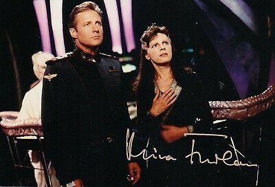 OFFICIAL WEBSITE Mira Furlan as Delenn in BABYLON 5 8x10 AUTOGRAPHED