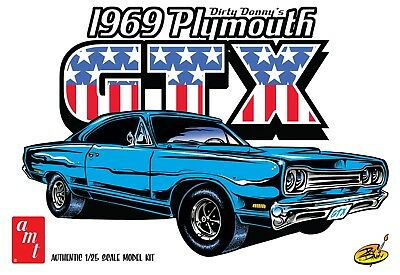 AMT 1/25 Plymouth GTX Dirty Donnie 1969 AMT1065