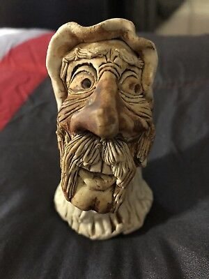 Wizard Candle Holder, made in 1973