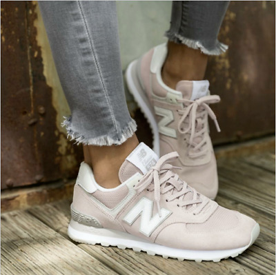 NEW BALANCE WOMEN WL574ESP 574 CLASSICS FADED ROSE PINK Lifestyle Sneakers 8.5 9
