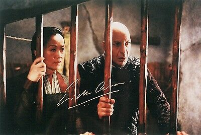 OFFICIAL WEBSITE Erick Avari Planet of the Apes (2001 Movie) 8x10 AUTOGRAPHED