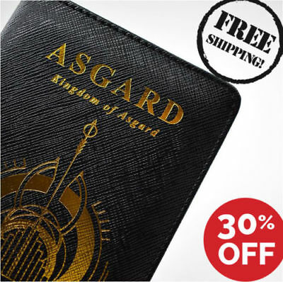 Marvel Kingdom of ASGARD Passport Case Cover ID Holders [ Thor ] [ Lucky ]