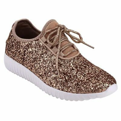 7c06696c3ea Forever Link Women s Remy-18 Glitter Sneakers