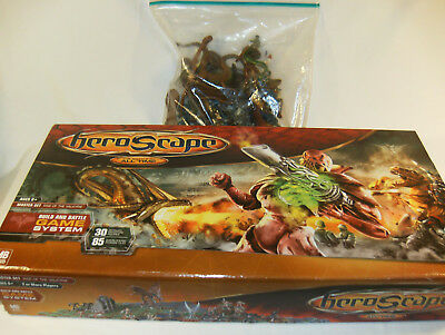 MB Heroscape 100% Complete Rise of the Valkyrie Master Set w/18 XTRA Figures(48)