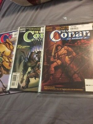The Savage Sword Of Conan Lot 209 214 212 Awesome Covers