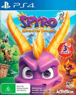 Spyro Reignited Trilogy PS4 Game NEW