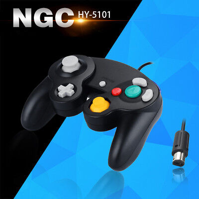 Wired Controller for Nintendo GameCube GC & Wii Console Classic Joypad