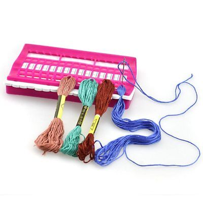 30 Positions Cross Stitch Row Line Tool Set Needles Holder Embroidery Thread
