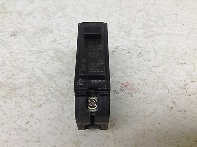 GE General Electric THQL1120 20 Amp 120/240 VAC 1 Pole Circuit Breaker THQL