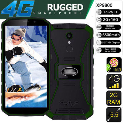 Unlocked 4G Rugged Smartphone XP9800 Cell Phone Fingerprint Face ID Android 8.1