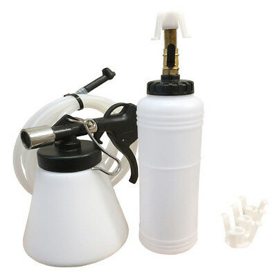 Air Brake Oil&Fluid Extractor Bleeder Pneumatic Clutch Vacuum Fluid Fill Bottle