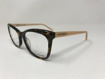84bfe2a6279d NEW LUCKY BRAND Eyeglasses D203 53-20-140 Matte Brown Tortoise 2493