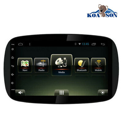 """9"""" HD Android 7.1 Car GPS Navigation USB Radio For Mercedes Benz Smart above2015"""