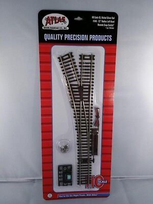 HO Scale 22in Radius Snap Switch Remote Right Code 83 Atlas 547