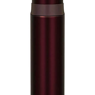 Thermos FFM-500-BW Stainless Slim Thermos Bottle 0.5L Brown FedEx Ship
