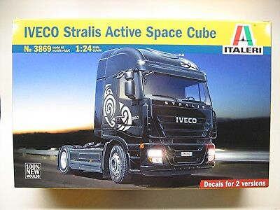 Italeri Iveco Stralis Active Space Cube truck kit #3869 from 2013