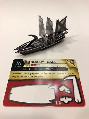 Bloody Blade Scorpion Ship from WizKids Pirates: Rise of the Fiends