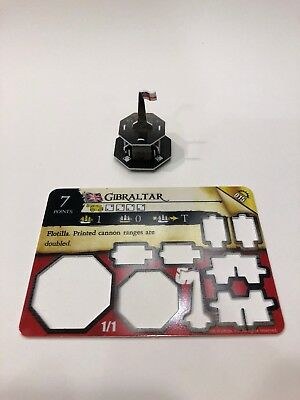 Gibraltar Flotilla from WizKids Pirates: Rise of the Fiends