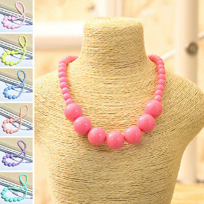 Korean Toddlers Girls Colorful Necklace Gorgeous Jewelry Stylish Princess