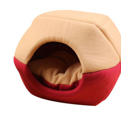 Pet Cat Dog Bed House Kennel Puppy Cushion Basket Pad Nest Tent For Small Dogs&