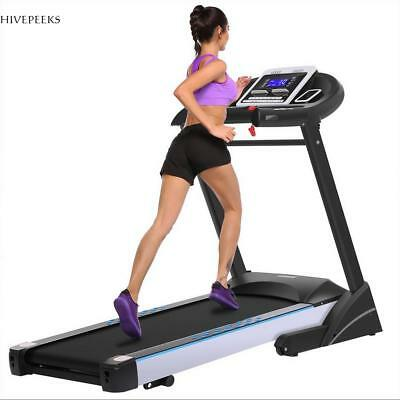 Folding Treadmill Electric Motorized Power Running Jogging Fitness Machine US
