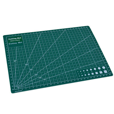 PVC Cutting Mat A4 Durable Pad Patchwork Sewing Handmade Diy Accessory 22 x 30cm