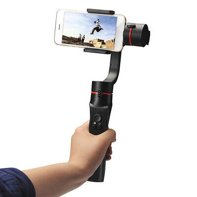 NEW Adjustable 3-Axis Handheld Mobile Phone Gimbal Stabilizer for Smart phone UK