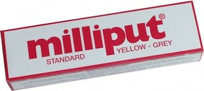 Milliput Standard Modelliermasse 113.4g Yellow - Grey (Epoxy Putty) modellieren