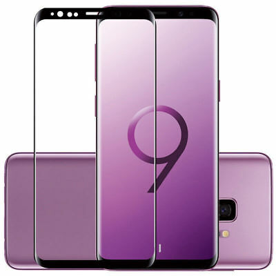 Vitre Verre Trempé Film GALAXY S9 S9 PLUS NOTE 9 protection écran 3D FULL Cover