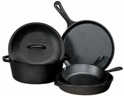 Lodge - Logic Cast Iron 5pc Set (Made in the U.S.A)