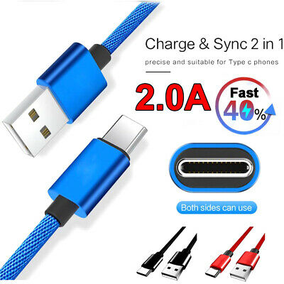 5A Type C USB-C Fast Charging Quick Charger Data Sync Cable For Huawei Phone
