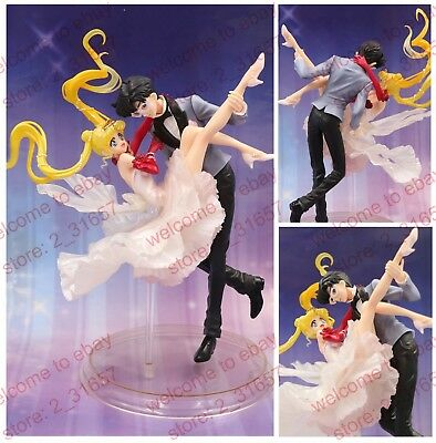 Sailor Moon Figuarts Zero Tuxedo Mask & Princess Serenity dancing PVC figure nob