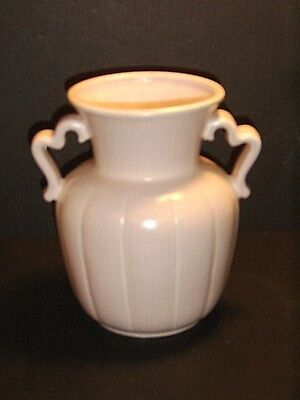 Stangl Pottery Double Handled Coral Pink Vase #3139