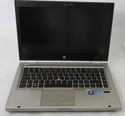 HP EliteBook 8470P Intel Core i7-3520M CPU @ 2.90GHz 8GB 750GB WIN 7 (R202)