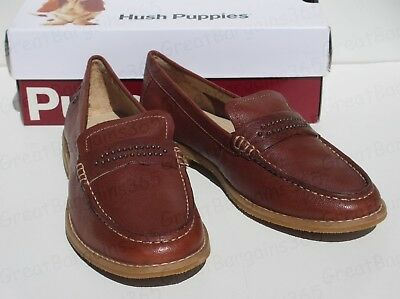 Hush Puppies Ladies New Women/'s Corby Flat Lace Up Suede Creeper Loafers Size 4