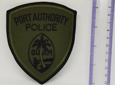 Port Authority Police Tactical Patch GUAM