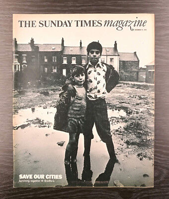 The Sunday Times Magazine:Britain's Cities in Crisis - Don McCullin, 12 Dec 1976