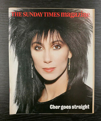 The Sunday Times Magazine: The New Cher by David Bailey, 23rd June 1985