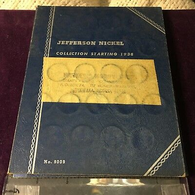 Mixed Lot 6 Coin Collection of Jefferson Nickel 1938+ Album # 90009