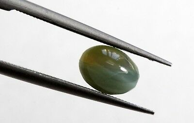 0.86 Ct Natural Alexandrite Cats Eye Loose No Heat Fine Chatovancy 6*4 MM Size