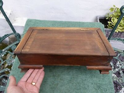 Antique Wooden Candle Box..