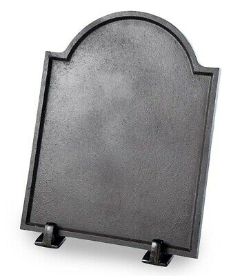 Large Cast Iron Plain Fireplace Fireback