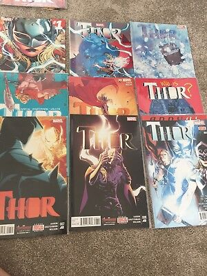 Thor #1, 2, 3, 4, 5, 6, 7, 8 And Annual 1- All First Prints Aaron & Daughterman