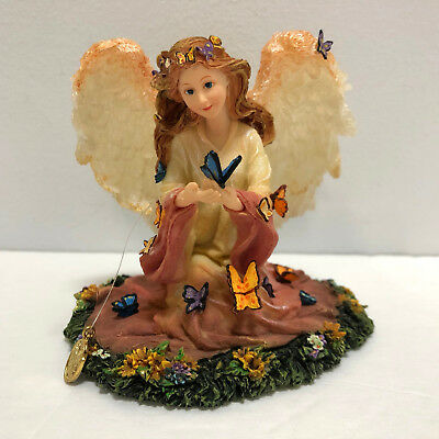 Boyds Charming Angels Figurine Monica Guardian of Life's Little Wonders Mint