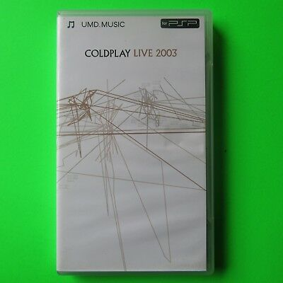 PSP UMD - COLDPLAY LIVE 2003 - ## FREE FAST 1st CLASS UK POSTAGE ##