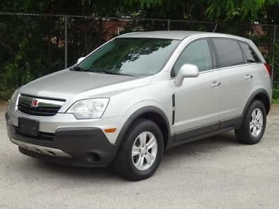 2008 Saturn Vue XE AWD 4WD 1-OWNER! CLEAN CARFAX! 63K Mls! ATELLITE RADIO ONSTAR KEYLESS ENTRY CD-PLAYER AUX-INPUT COLD AC RUNS GREAT