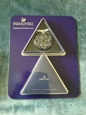 Swarovski Crystal Annual Edition Christmas Clear Snowflake 2018 (Large) 5301575
